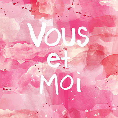 Vous Et Moi Poster by Linda Woods