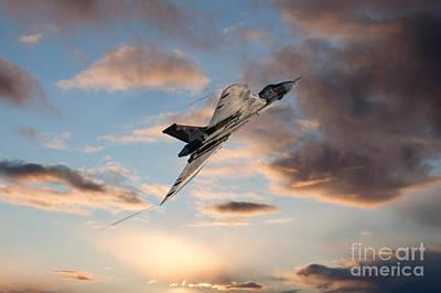 Vulcan Climb Out Poster by J Biggadike