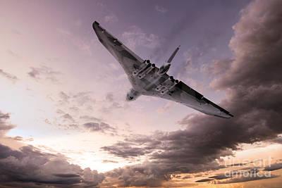Vulcan The Final Flight  Poster by J Biggadike