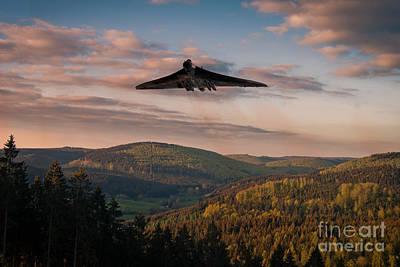 Vulcan Valley Poster by J Biggadike