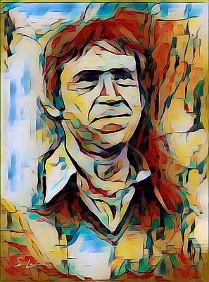 Vysotsky Vladimir Singer-songwriter Poster
