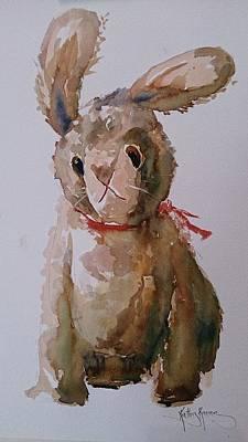 Wabbit Poster by Kathy  Karas
