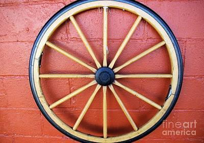 Wagon Wheel Poster by John S