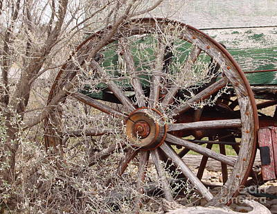 Wagon Wheel Poster by Robert Frederick