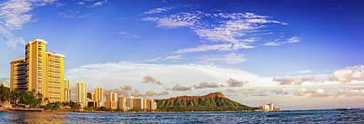 Waikiki And Diamond Head Poster