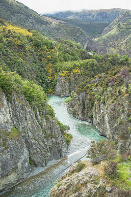 Poster featuring the photograph Waimakariri Gorge by Cheryl Strahl