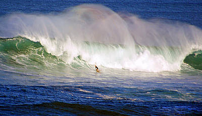 Waimea Bay Wave Poster