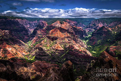 Waimea Canyon On Kauai Poster