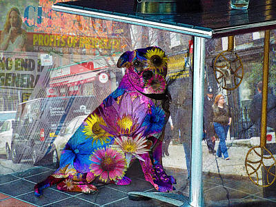 Waiting Poster by Judi Saunders