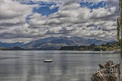 Wakatipu Lake In New Zealand Poster by Patricia Hofmeester