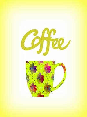 Wake Up To Coffee Poster