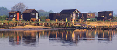Walberswick Reflections Poster by John Perriment
