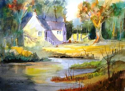 Wales Country House Poster by Larry Hamilton
