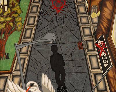 Walk Poster by Angelo Sena