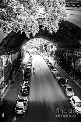 Poster featuring the photograph Walk The Tunnel by Perry Webster