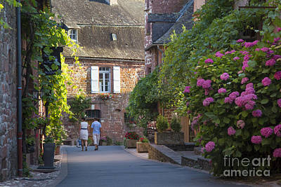 Walk Through Collonges-la-rouge Poster
