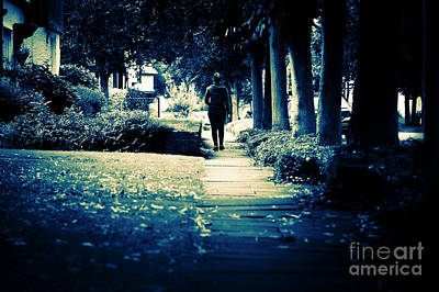 Walking A Lonely Path Poster