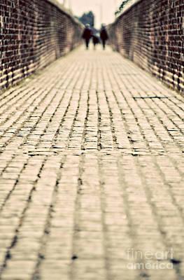 Walking Away Poster by Meirion Matthias