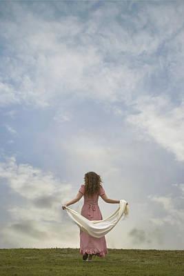 Walking Into The Sky Poster by Joana Kruse