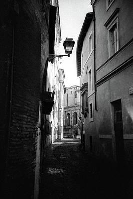 Walking Near The Campidoglio Poster