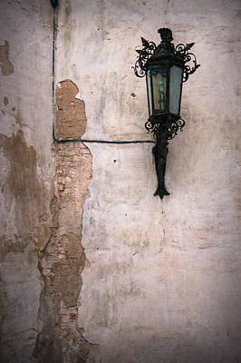 Wall And Lamp Poster