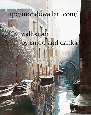 Wallpaper  Poster by Guido Borelli