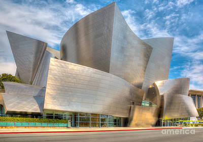 Walt Disney Concert Hall - Los Angeles Poster by Jim Carrell