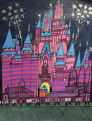 Walt Disney World Cinderrela Castle Poster