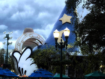 Walt Disney World Home Of The Wizard Poster