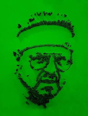 Walter Sobchak Nailed Green Poster