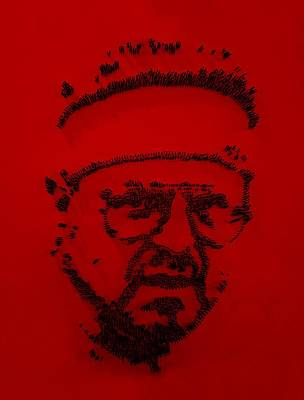 Walter Sobchak Nailed Red  Poster
