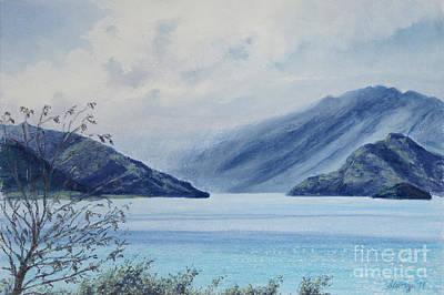 Wanaka Lake Poster