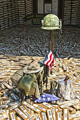 War Dogs Sacrifice Poster by Carolyn Marshall