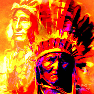 War Path The Warrior Chiefs Final Stand 20151228 Square Poster