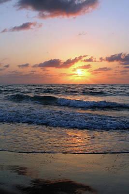Warm Atlantic Sunrise Poster