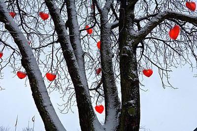 Warm Hearts Color A Tivoli Gardens Poster by Keenpress