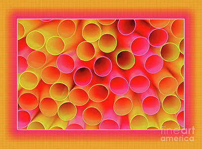 Poster featuring the photograph Warm In Neon By Kaye Menner by Kaye Menner