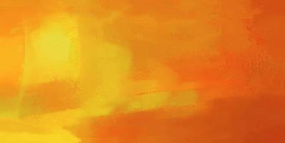 Poster featuring the digital art Warm Moment by John Hansen