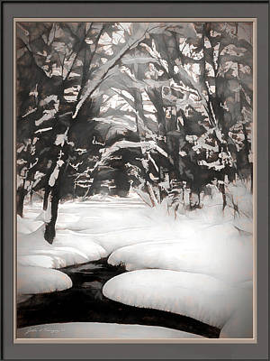 Warmth Of A Winter Day Poster