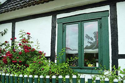 Warnemunde Germany Window Poster