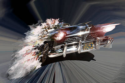 Poster featuring the photograph Warp Speed by Christopher Woods