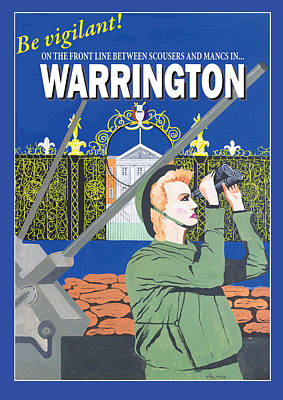Warrington Poster Poster