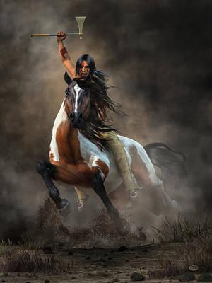 Warrior Poster by Daniel Eskridge