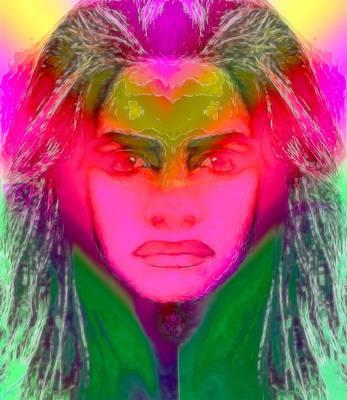 Warrior Goddess IIII Poster by Devalyn Marshall