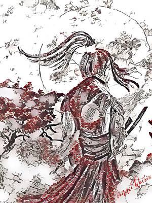 Warrior Moon Anime Poster