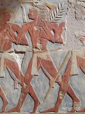 Warrior Of Hatshepsut Poster by Richard Deurer