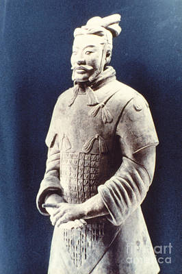 Warrior Of The Terracotta Army Poster by Heiko Koehrer-Wagner