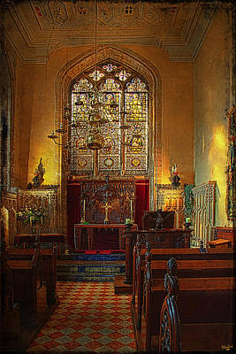 Warwick Castle Chapel Poster by Chris Lord