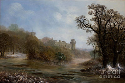 Warwick Castle- The South Face Poster by MotionAge Designs