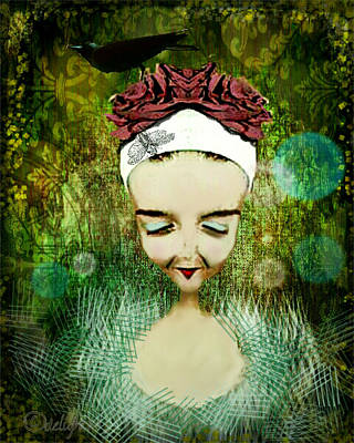 Poster featuring the digital art Wash Your Face Each Night by Delight Worthyn